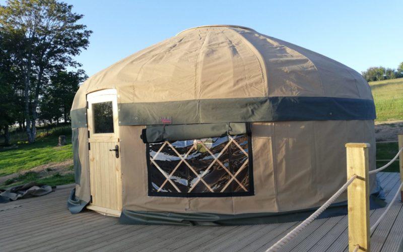 Rural Yurt Retreat in Cornwall
